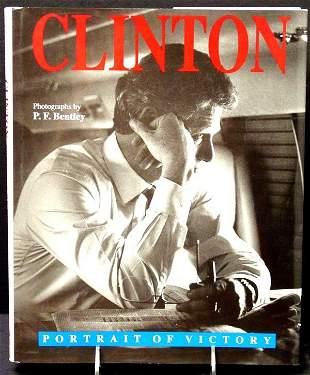 President Bill Clinton Signed Book