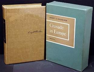 Eisenhower, Crusade in Europe, Ltd Ed Signed