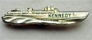 Kennedy PT 109 Tie Clip