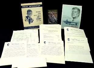 John F Kennedy Aircraft Carrier Christening, Press