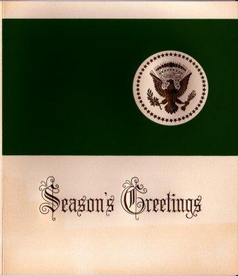 24: 1961 Kennedy White House Christmas Card