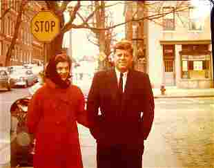 Jacqueline and John Kennedy photograph;