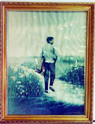 John F. Kennedy photograph copy;