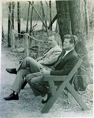 Kennedy Camp David Photograph;