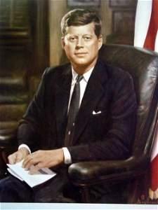 11: President Kennedy Photo by Bachrach ;