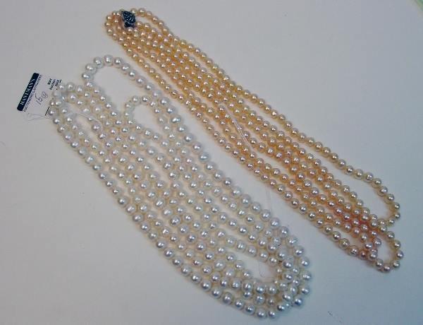 15: Pearl Necklaces.