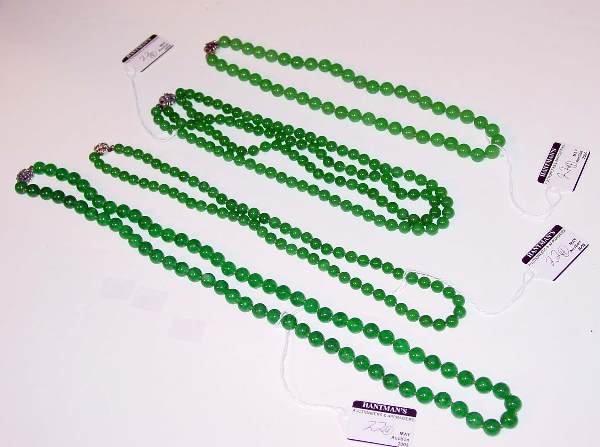 22: Jadeite Necklaces