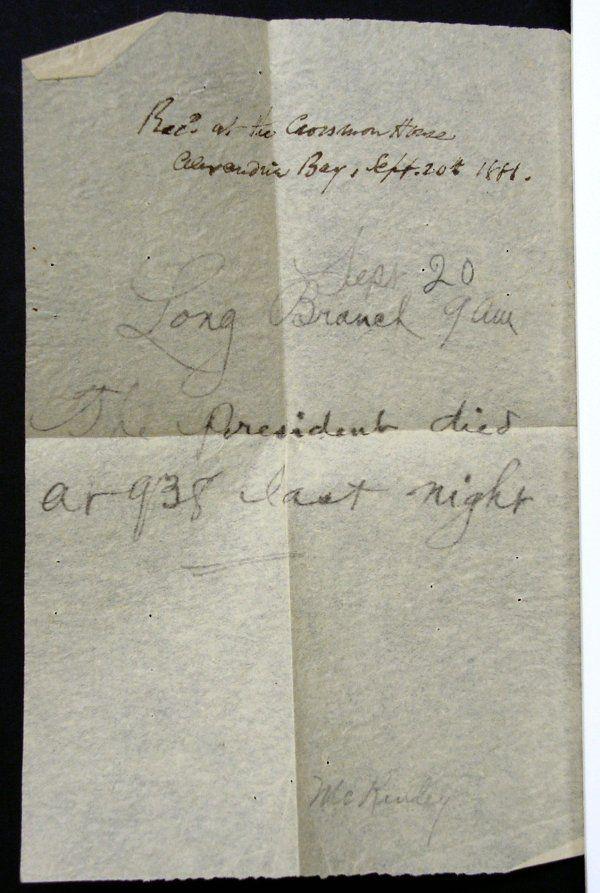 278: President James Garfield Memorial Memorabilia