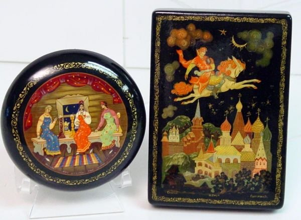 23A: Russian Lacquer Boxes