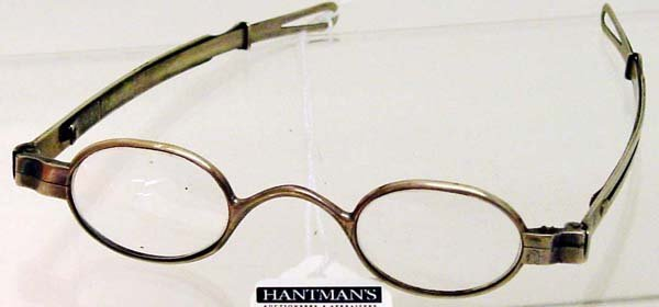 2: Philadelphia Silver 1840's Spectacles