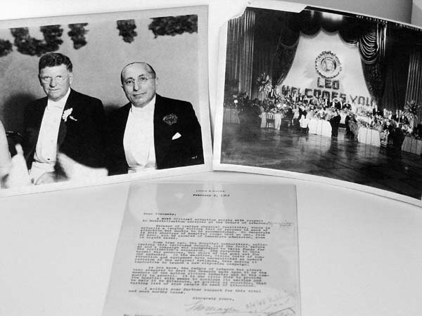 20: Louis B. Mayer Signed Letter & Photos