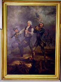 208: Willard Spirit of '76 Painting