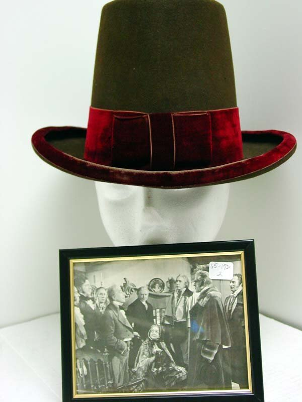 21: Boris Karloff Costume Hat