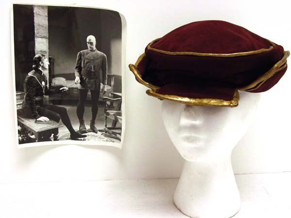 "22: Basil Rathbone ""Tower of London"" Hat"