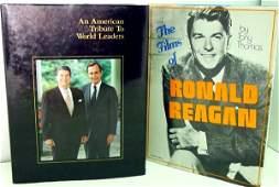 313: Ronald Reagan Signed Books.