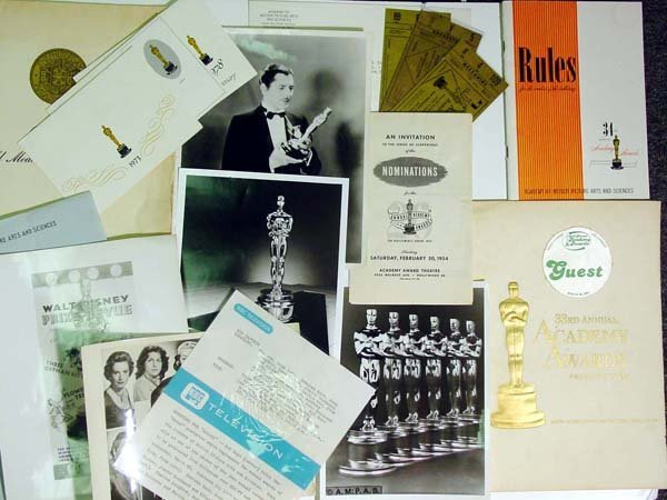 11: Academy of Motion Picture Memorabilia