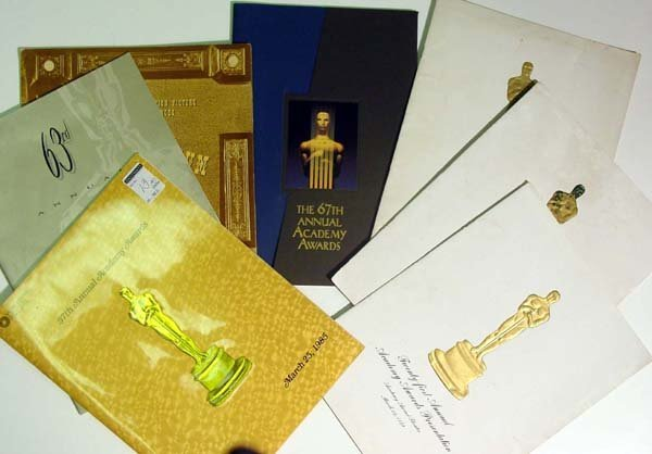 13: Academy Awards Programs
