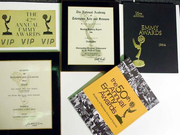 15: Emmy Awards Memorabilia