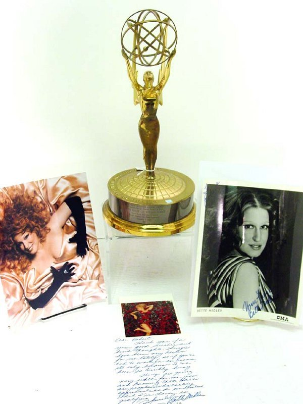 13A: 1997 Emmy Award to Bette Midler