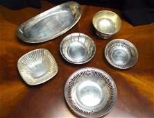 1064: American Silver Hollowware