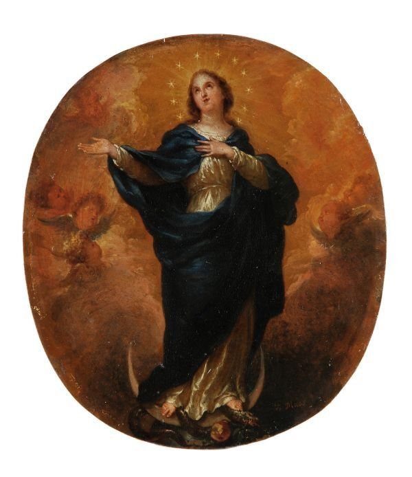Godfried Maes (Antwerp 1649-1700) The Immaculate C