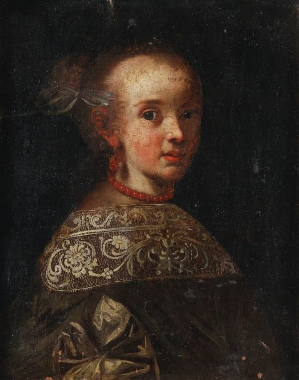 Lombard School (17th century) Portraits of young g