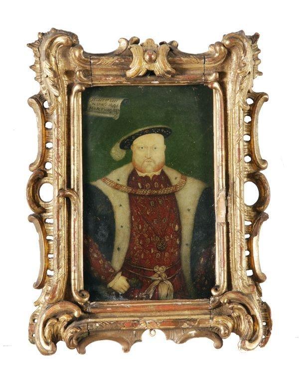 English School (18th century) Henry VIII; Elizabet