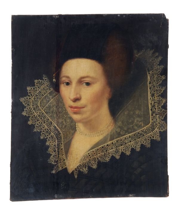 Circle of Jan Mytens Portrait of a lady, traditina