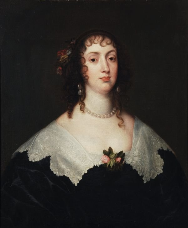 After Sir Anthony van Dyck Portrait of Olivia Bote