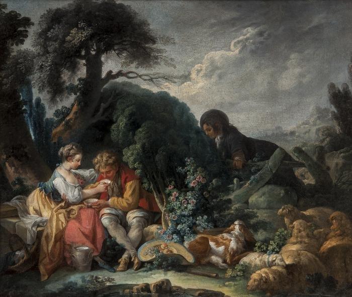 Attributed to Jean-Baptiste Huet (Paris 1745-1811)