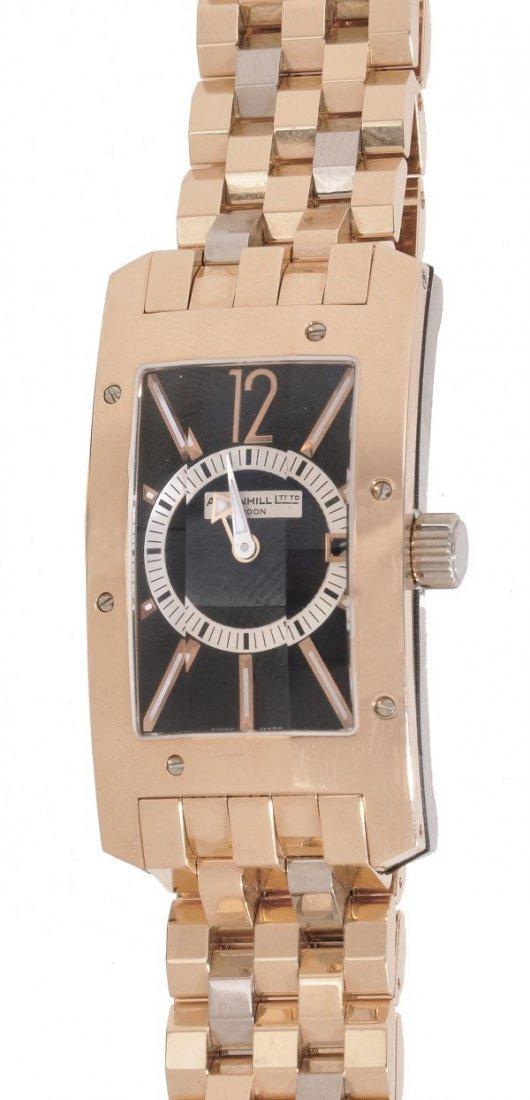 Dunhill, Citytamer, a gentleman's 18 carat gold du