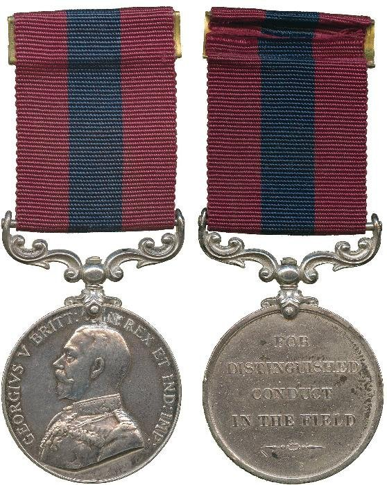 DISTINGUISHED CONDUCT MEDAL, GVR (31989 A. Bmbr: H