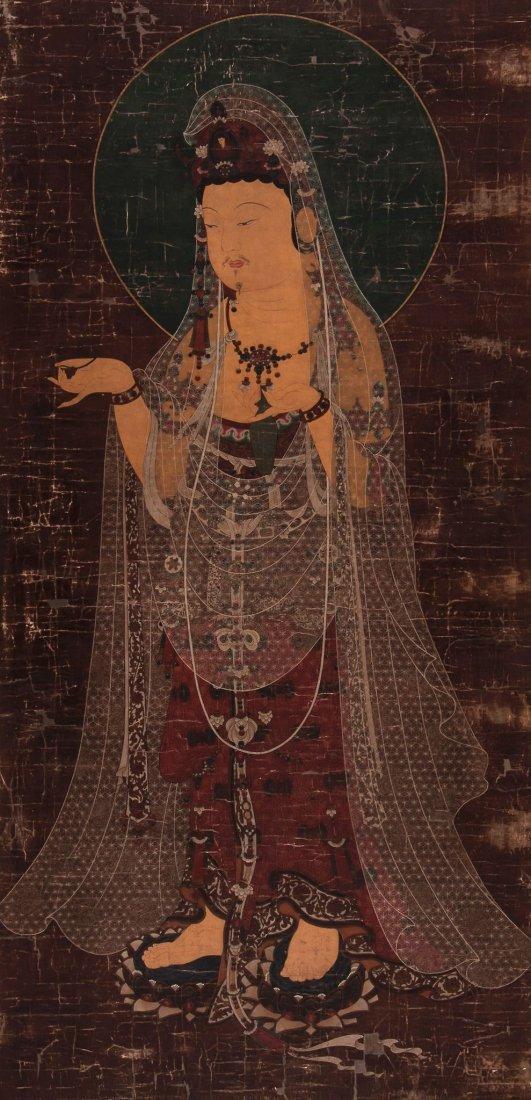 A painting of Boshisattva Avalokitesvara