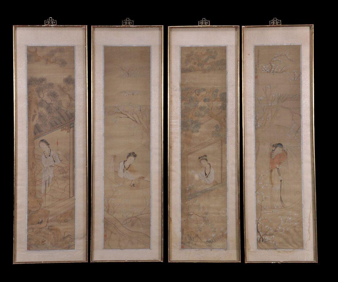 Fei Yi Geng , Ladies of the four seasons, 19th cen