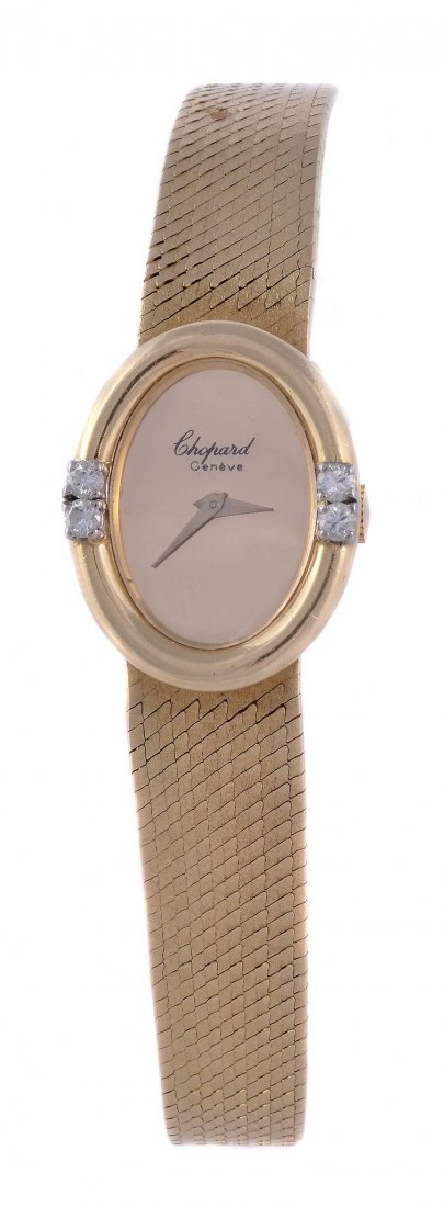 Chopard, a lady's 18 carat gold wristwatch, ref. 6