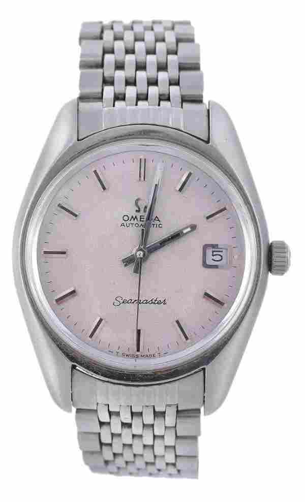 Omega, Seamaster, a gentleman's stainless steel wr