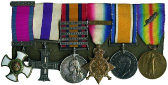An Impressive Boer War and WWI DSO and '1914' MC