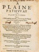 A plaine path-vvay to plantations: that is, a discourse