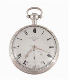 James McCabe, Royal Exchange, a silver deck watch,