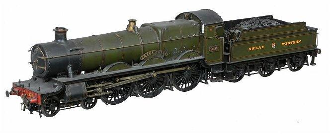 A very fine Gauge 1 model of a Great Western Railway