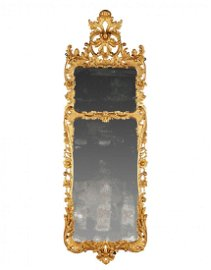 A Pair of George III Pier Mirrors