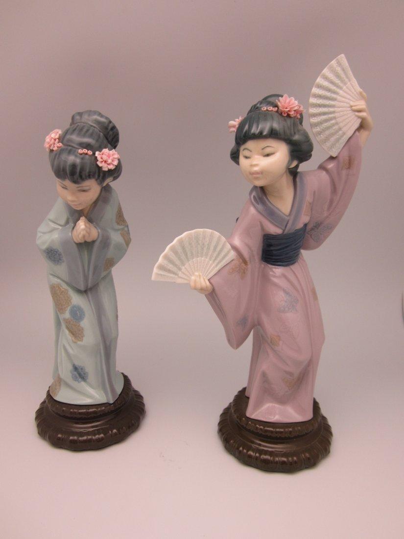 8: 2 Lladro Figurines