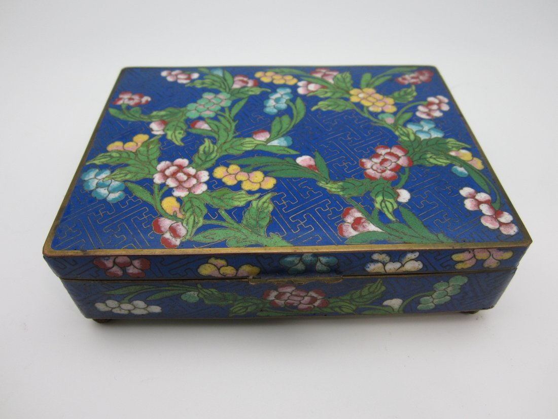 96: Chinese Cloisonne Box