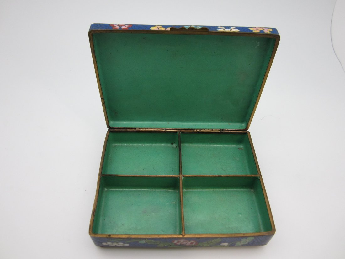 96: Chinese Cloisonne Box - 2
