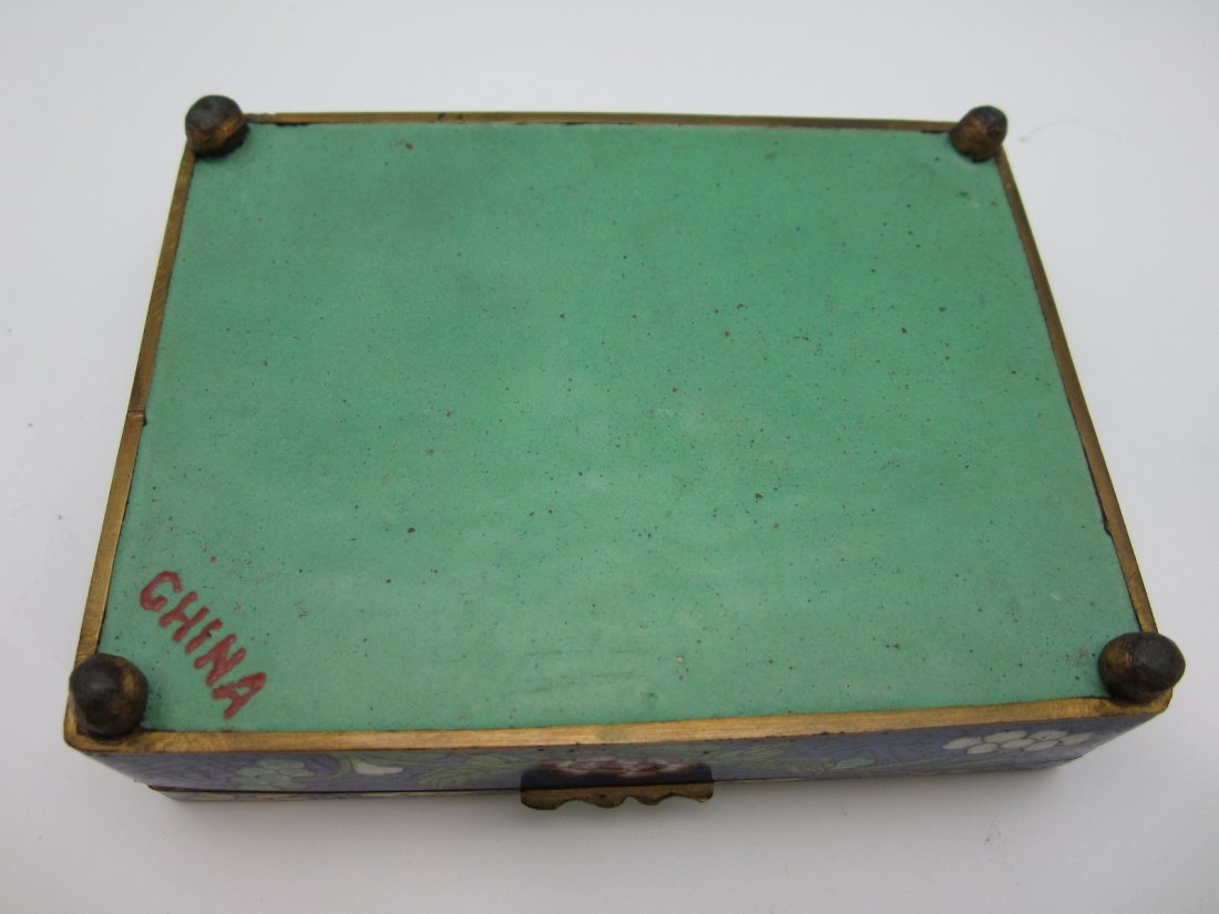 96: Chinese Cloisonne Box - 3