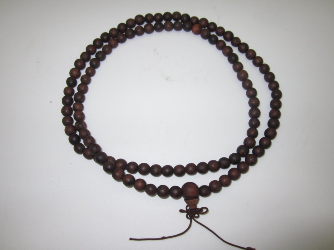 Chan Xiang Wood Necklace
