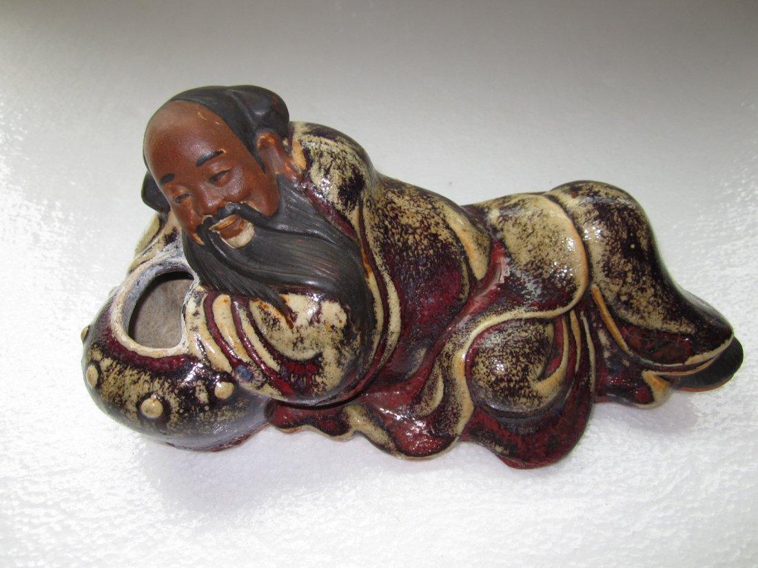 Si Wan Pottery Figurine Water Pot