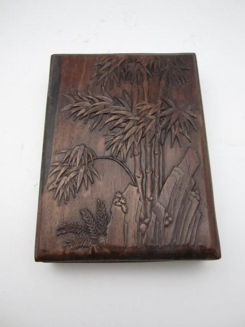INKSTONE WITH HARD WOOD BOX