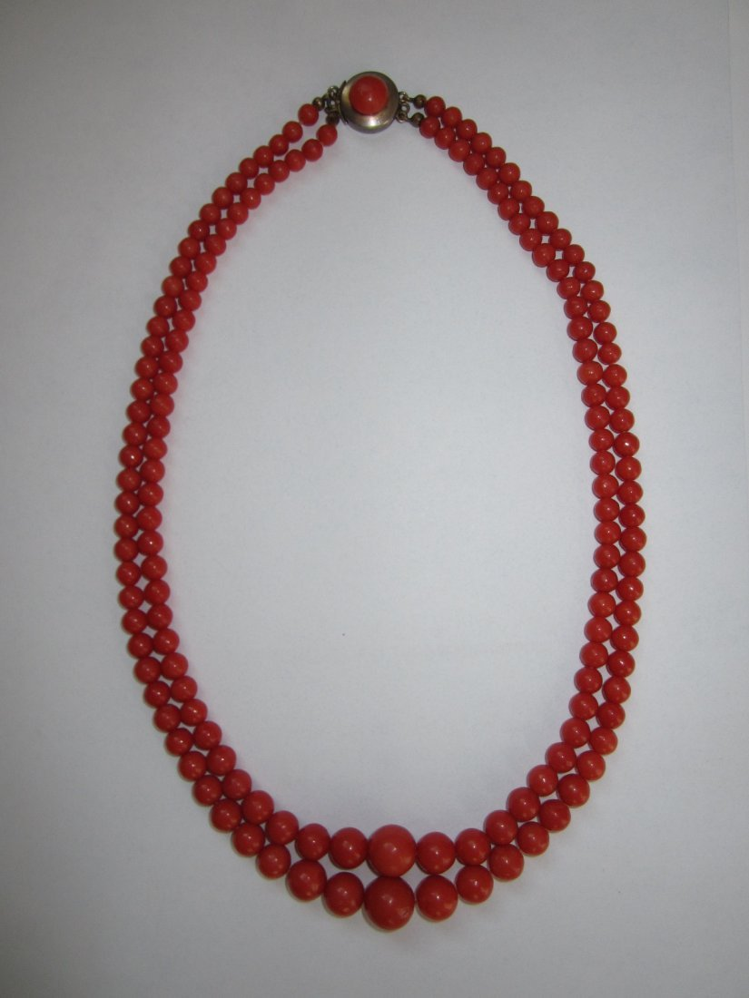 NATURAL CORAL NECKLACE