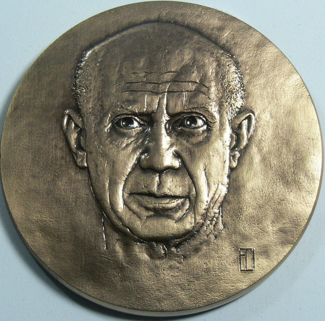 Picasso Bronze - Gedenkmedaille